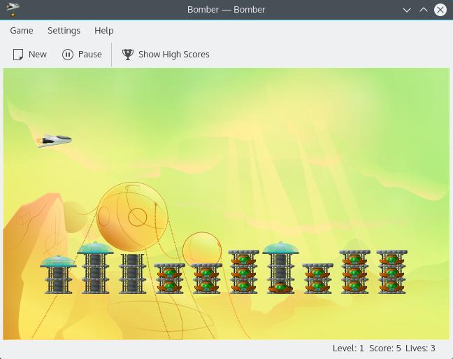Bomber - Arcade Bombing Game - KDE org