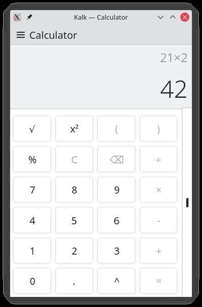 Calculator Page