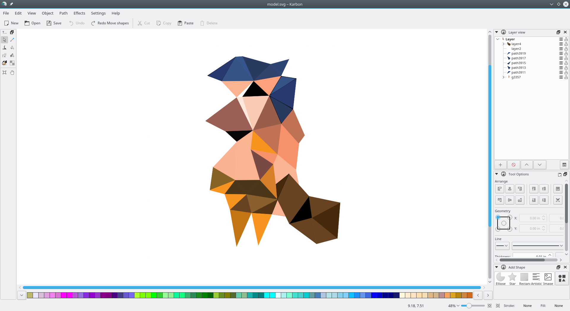 kde karbon scalable graphics
