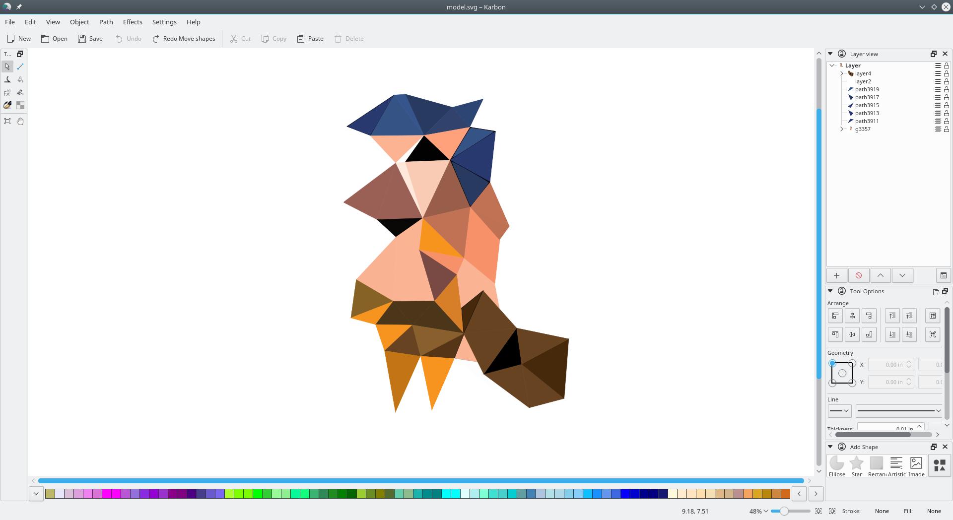 KDE - Karbon - Scalable Graphics