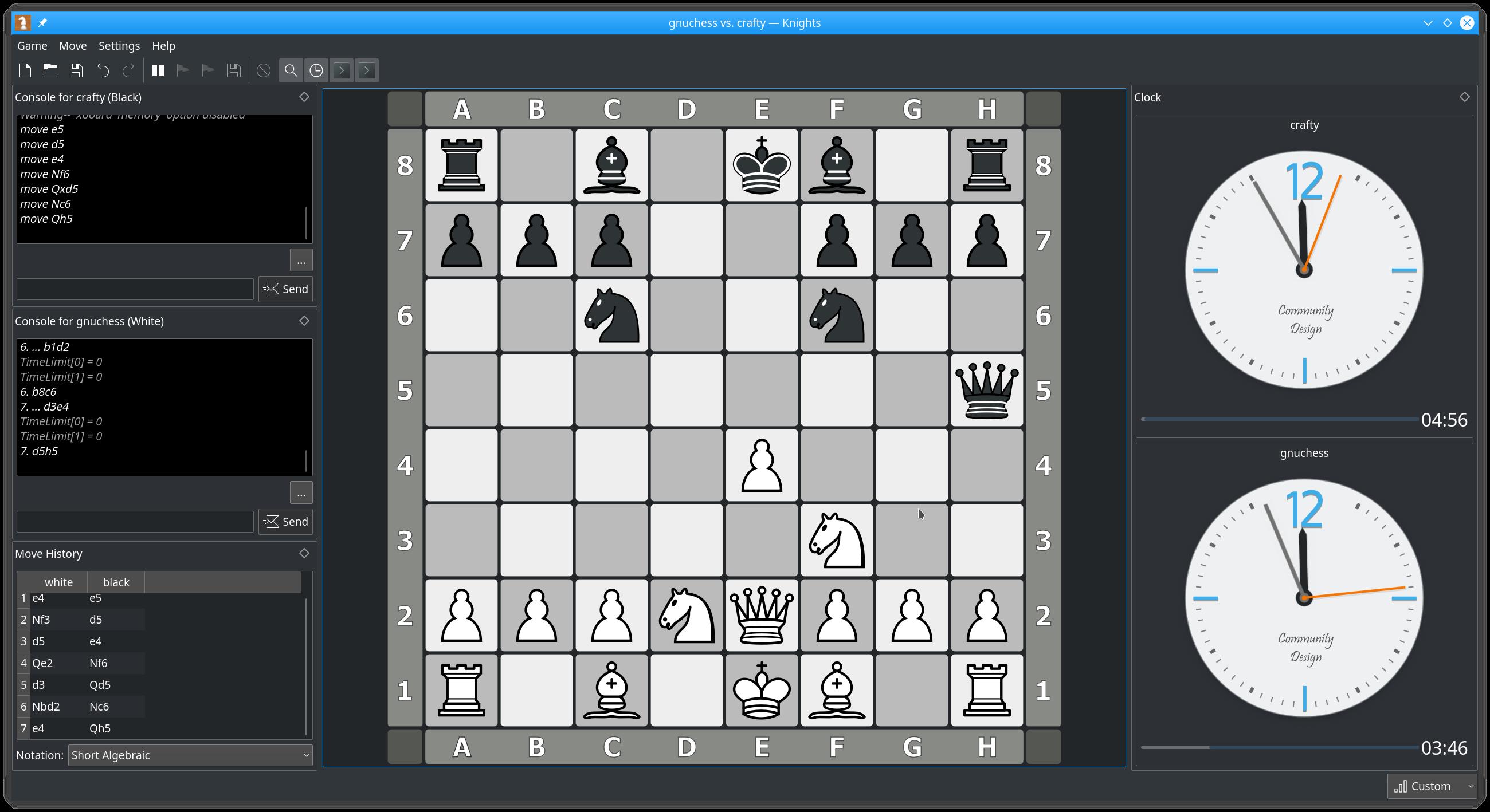 Pääikkuna – šakkikone vastaan šakkikone