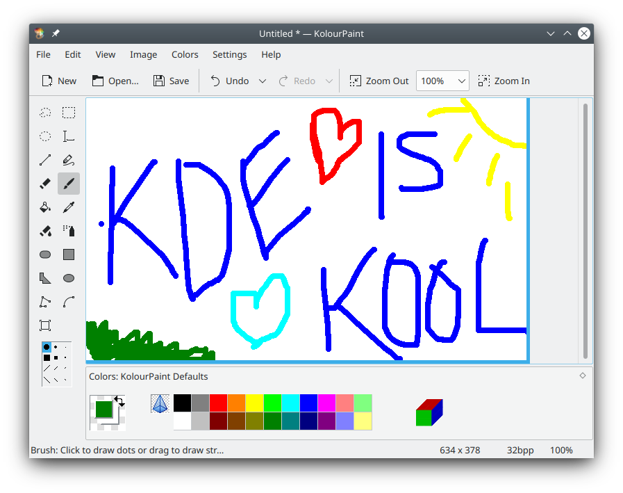 Kde Kolourpaint Paint Program