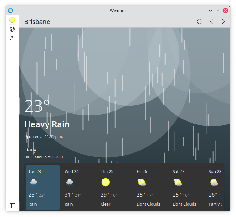Desktop dynamic view